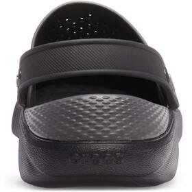 Crocs LiteRide Clogs Unisex, black/slate grey
